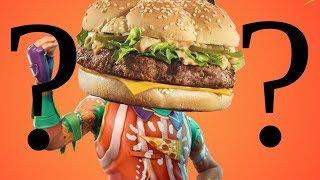 burger on tomato head
