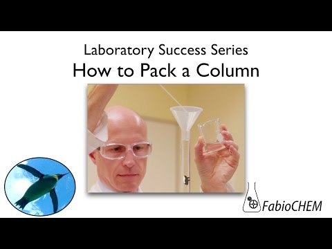 How To Pack A Column (for Column Chromatography)