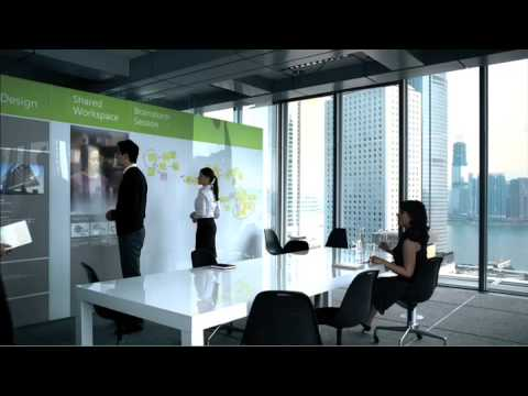Microsoft office labs vision 2019 youtube for Office design of the future