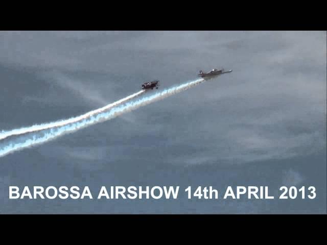Barossa Airshow 2013 - Chris Sperou and Warren Stewart Promo 2