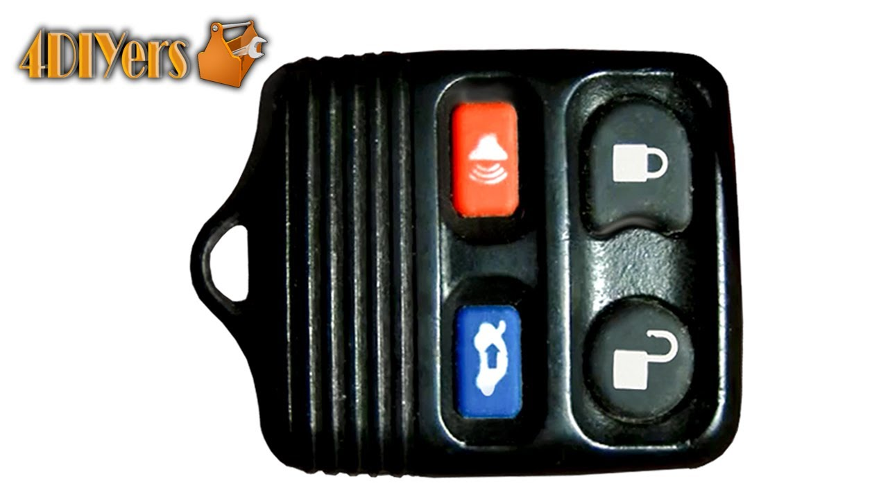 Diy Ford Keyless Remote Battery Replacement Disassembly Youtube