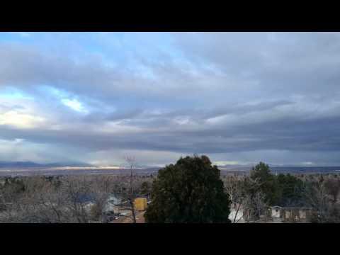 Sunrise time-lapse over Salt Lake Valley