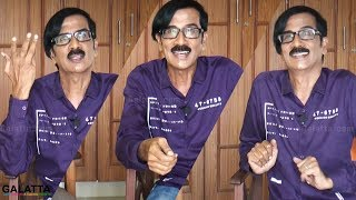 Relax and Laugh Out with Manobala's Jolly Interview | Galatta