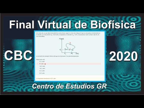 FINAL VIRTUAL DE BIOFISICA CBC. RESUELTO