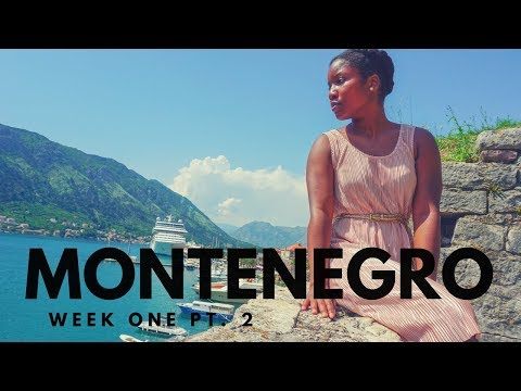 MY FIRST WEEK IN MONTENEGRO PT. 2 | THEY KNOW I'M BLACK