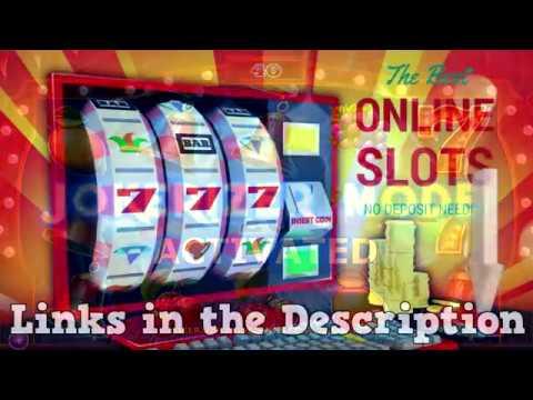 Online Slots Deposit Bonus