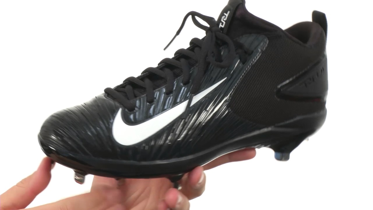 f1d44e6fb15f0 Nike Trout 3 Pro Baseball Cleat SKU 8774743 - YouTube