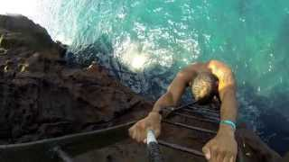 South Point Cliff Jumping - Big Island, Hawaii. - GoPro
