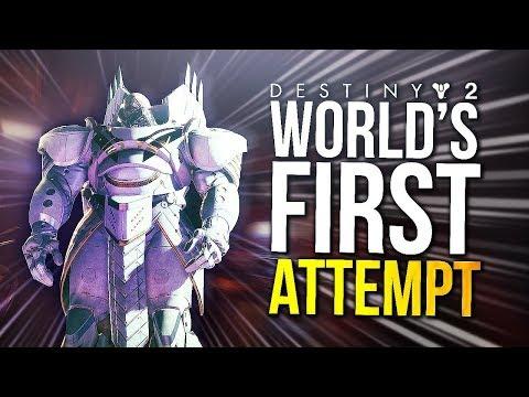 Destiny 2 - World's First Raid Attempt! (Destiny 2 Leviathan Raid)