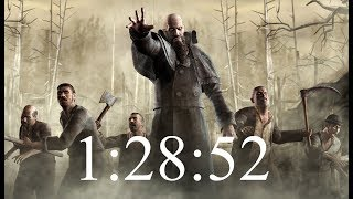 RE4 New Game Pro Speedrun | 1:28:52 (1:27:11 Load Remover)