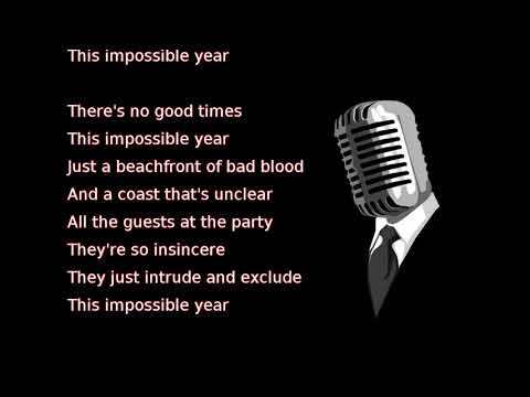 Panic! At The Disco - Impossible Year (lyrics)