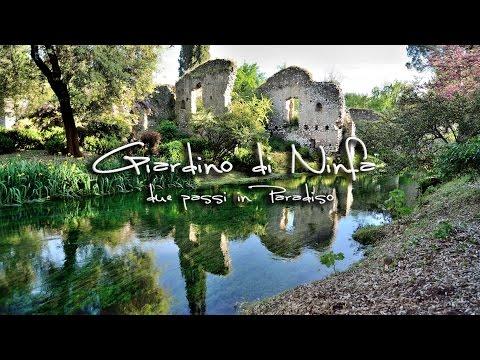 Il Giardino Di Ninfa Due Passi In Paradiso Youtube