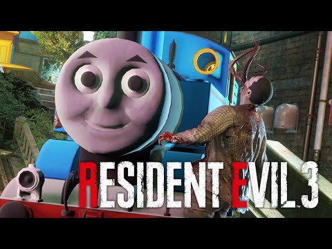 Resident Evil 3 Remake - Thomas The Train Mod PC