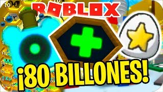 EXPENSE E PIU' DI 80 MILIARDI IN ROBLOX BEE SWARM SIMULATOR