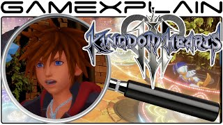 Kingdom Hearts 3 Analysis - E3 2015 Trailer (Secrets & Hidden Details)
