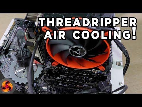 Arctic Freezer 33 TR Cooler Review (Threadripper on AIR!)