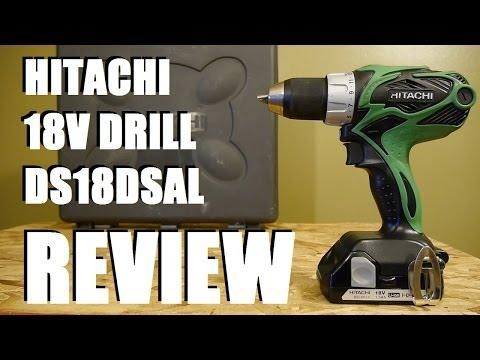 Hitachi 18V DS18DSAL Lithium Ion Drill REVIEW