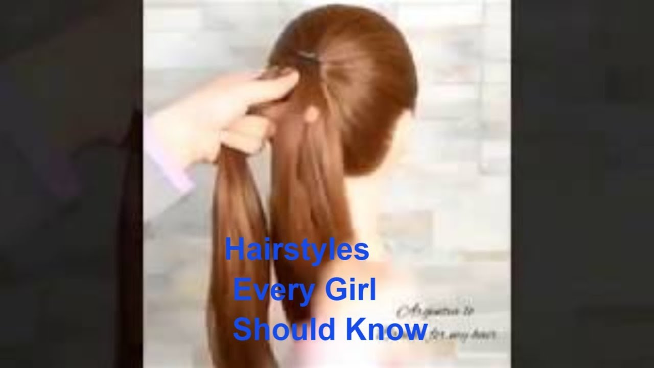 hairstyle for big forehead girls indian/long hair/ hair