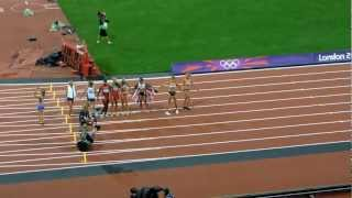 Jessica Ennis 800m Win and Heptathlon Gold Medal, and Mo Farah winning 10000m Gold - LONDON 2012