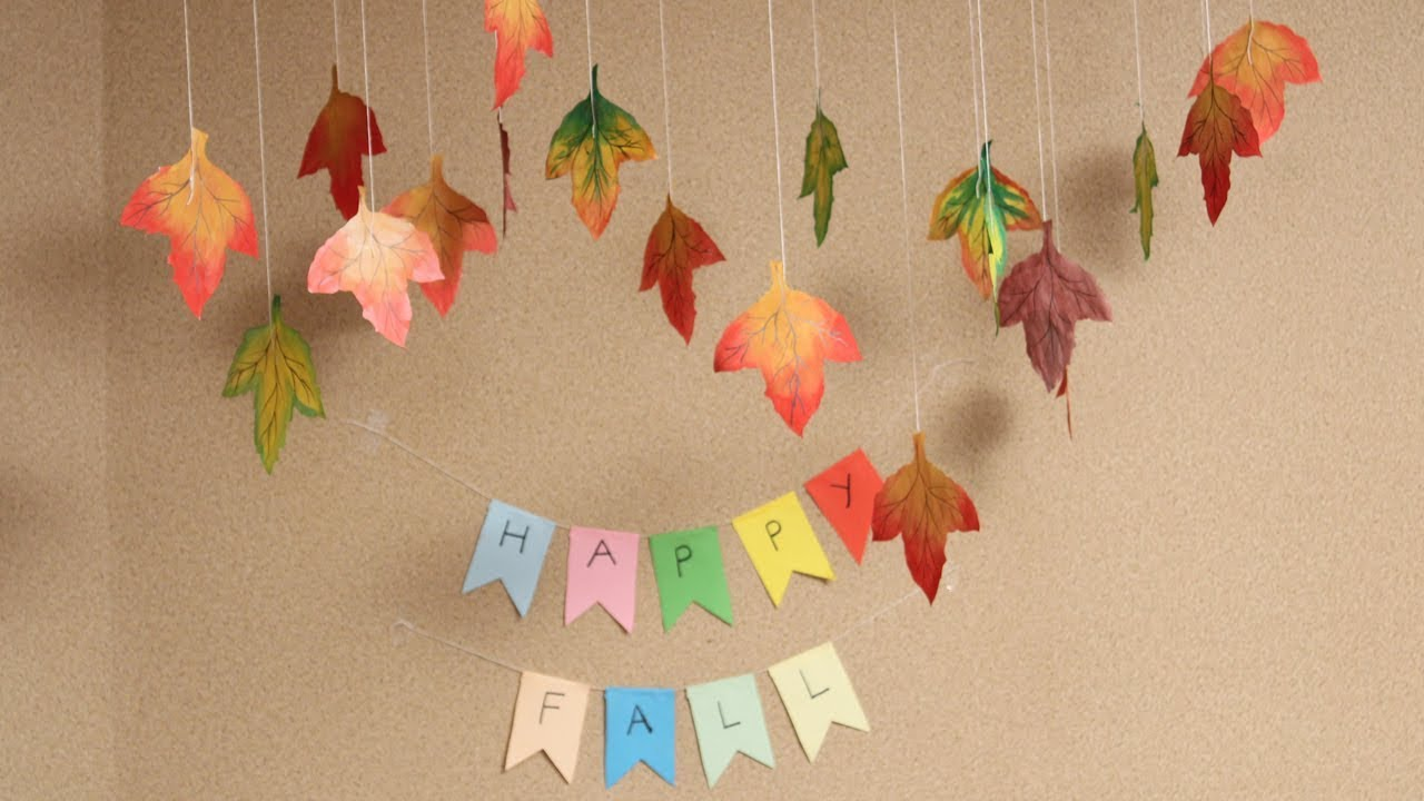 Diy How To Make Easy Fall Crafts Autumn Leaves Diy Crafts