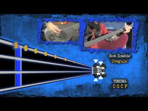 Blasko Of Rob Zombie Dragula Animated Tablature