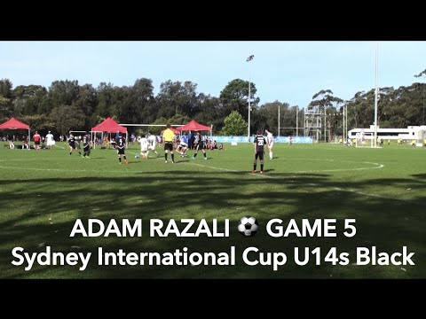 ADAM RAZALI - GAME 5 of Sydney International Cup, U14s Black