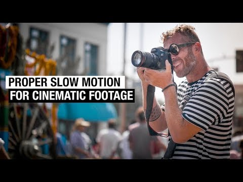 How to Make Slow Motion Video for Cinematic B-Roll