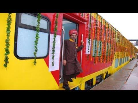 12986/12985 Delhi Sarai Rohilla - Jaipur AC Double Decker Express  #IndianRailways