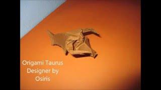 Origami Taurus  by Osíris