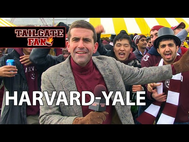 Live Painter/Tailgate Fan: Harvard - Yale
