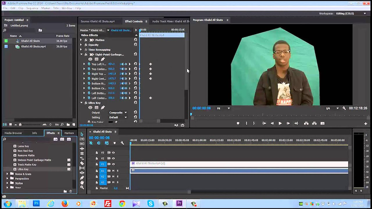 premiere pro how to watch a full screen