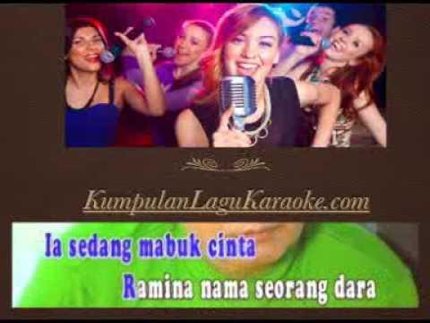 RAMINA - MANSYUR S karaoke dangdut tembang kenangan ( tanpa vokal ) cover