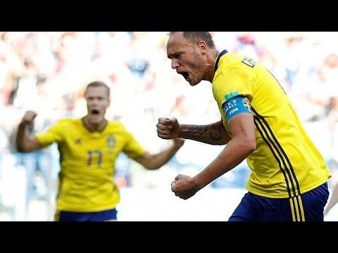 Suécia bate Coreia do Sul e entra a ganhar no Mundial