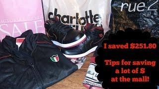 Tips for Saving Big at the Mall + Haul!