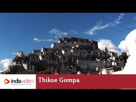 Thikse Gompa or Thikse Monastery, Leh