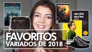 Série, sapato, livro! FAVORITOS DE 2018 | Lia Camargo