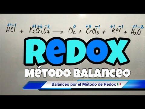 Balanceo Método REDOX (paso a paso bien fácil)
