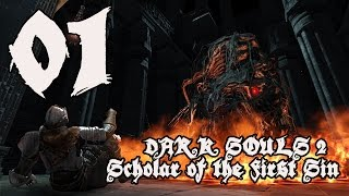 Dark Souls 2 Scholar of the First Sin - Walkthrough Part 1: Cowboy Returns to Majula
