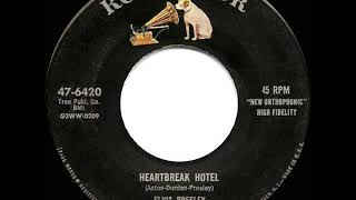 1956 HITS ARCHIVE: Heartbreak Hotel - Elvis Presley (a #1 record)