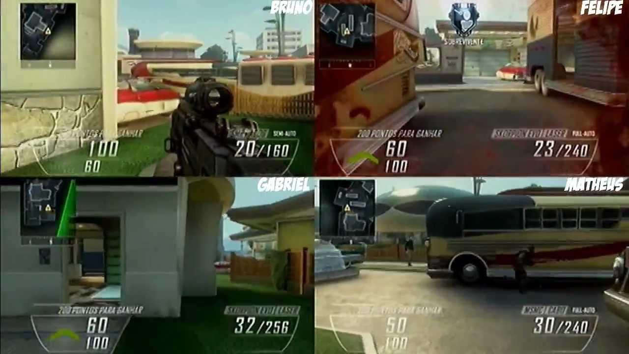 Black Ops 2: Gun Game (4 players - SplitScreen) BR - YouTube