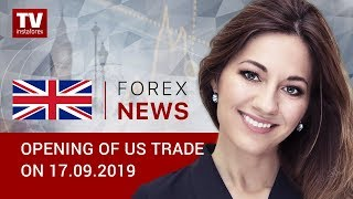 InstaForex tv news: 17.09.2019: US dollar bears get stronger (EUR, USD, CAD)
