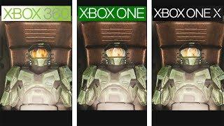 Halo Anniversary   360 vs ONE vs ONE X   4K Graphics Comparison   Comparativa