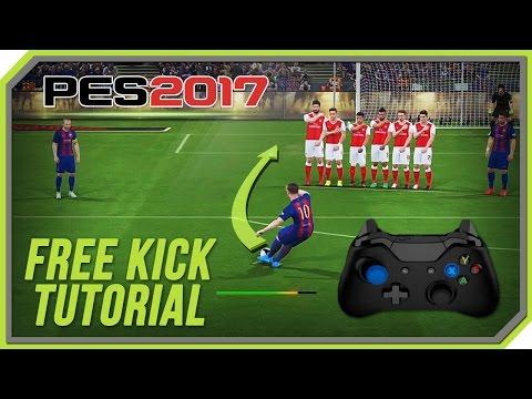 PES 2017 Free Kick Tutorial [Xbox 360, Xbox One]