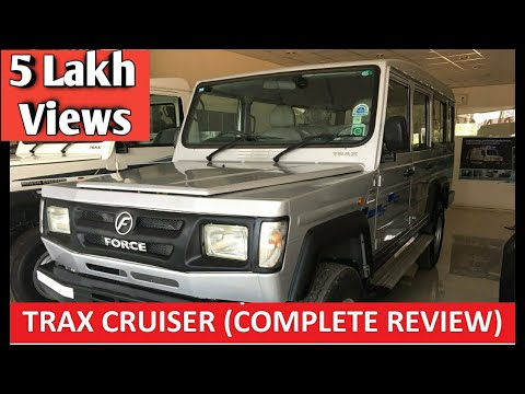 Force Motors - Trax Cruiser || Complete Product Review