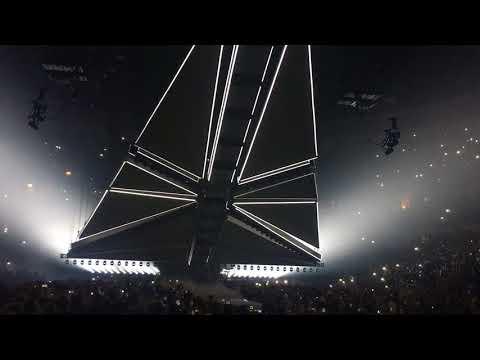 The Weeknd - Start of Anaheim Set 10/13/17 - Starboy