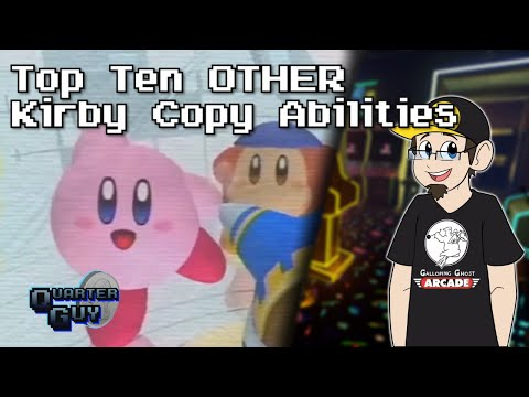 Top Ten OTHER Kirby Copy Abilities (5th Anniversary Special)