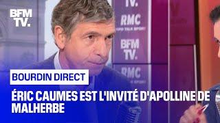 Éric Caumes face à Apolline de Malherbe en direct