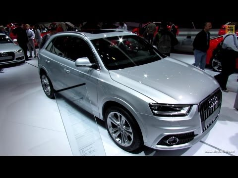 2013 Audi Q3 TDI Quattro S-Line - Exterior and Interior Walkaround - 2012 Paris Auto Show