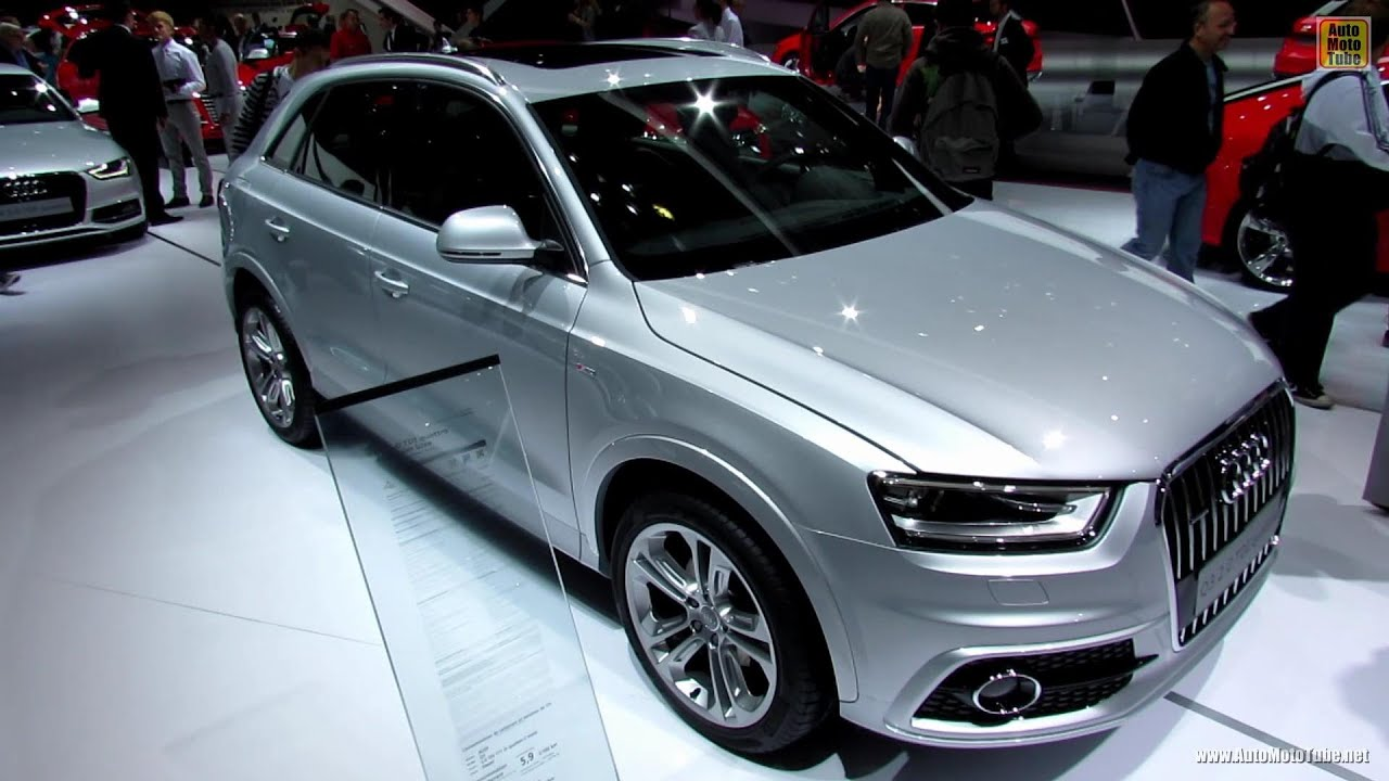 2013 audi q3 tdi quattro s line exterior and interior walkaround 2012 paris auto show youtube. Black Bedroom Furniture Sets. Home Design Ideas