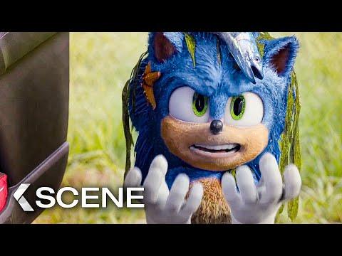 Fluffy Sonic Scene - SONIC: The Hedgehog (2020)
